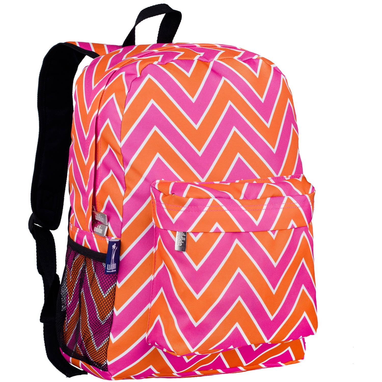 Wildkin Zigzag Pink 16 Inch Backpack by Wildkin