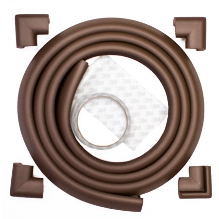 Prince Lionheart Cushiony edgeGUARDS with 4 Corners, Brown