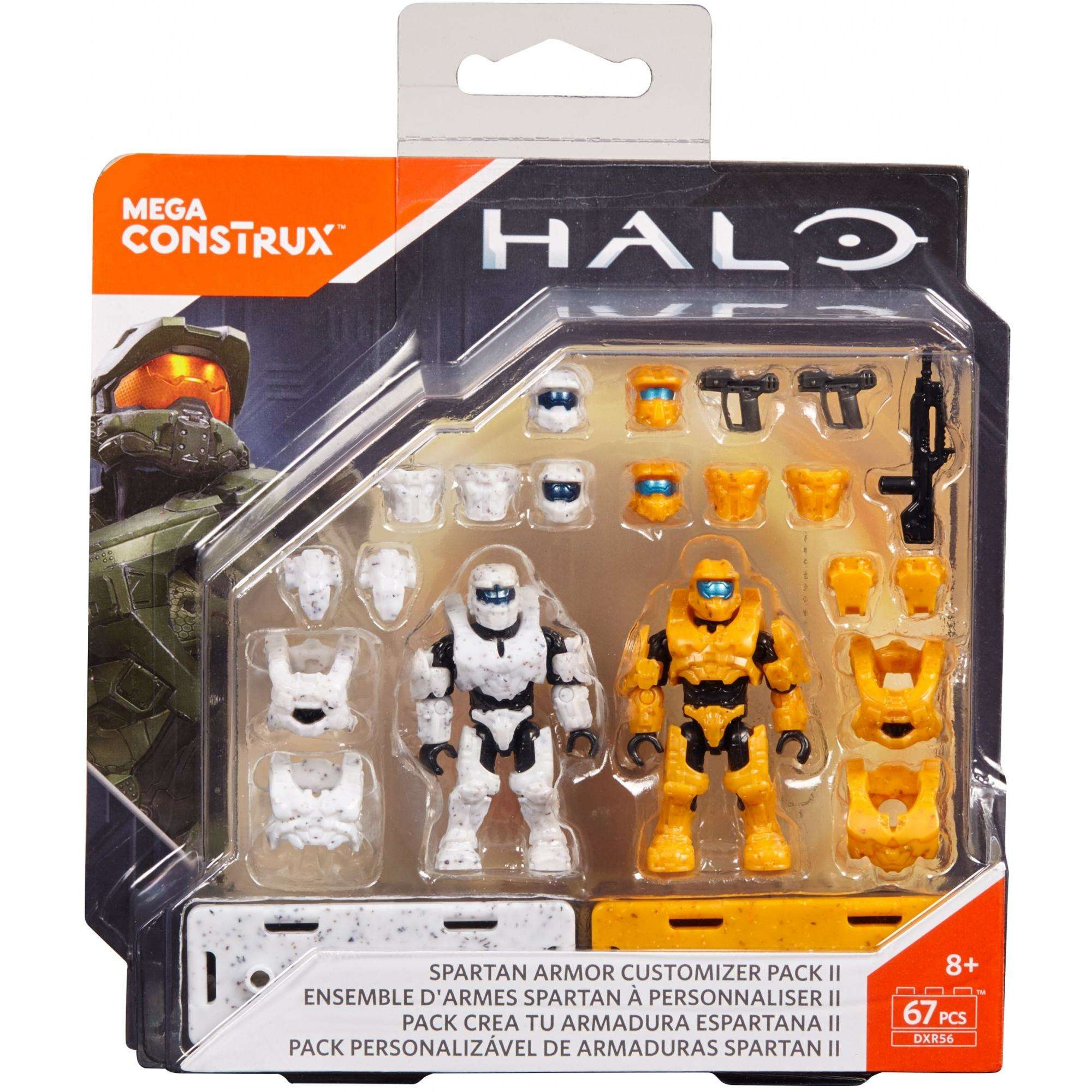 Mega Construx Halo Spartan Armor Customizer Pack