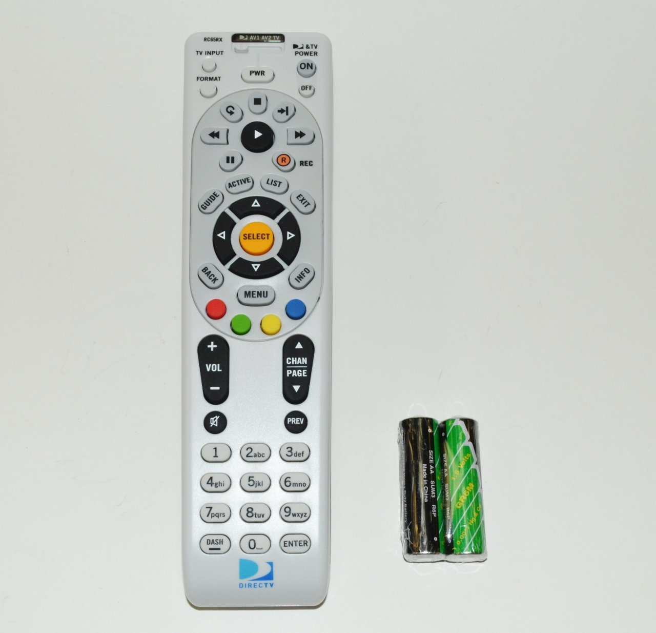 C-Wave RC65RX RF Remote [Electronics], Communicates over IR and RF frequencies By DIRECTV by DirecTV