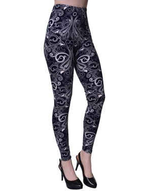 dc409c1d058ca2 Product Image VIV Collection Regular Size Printed Brushed Leggings (Paisley  Freedom)