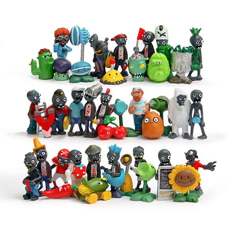 Underwater Zombies (40ps/set New Plants vs. Zombies Toys Anime Action)
