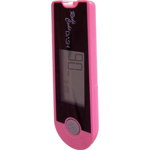 Advocate Redi-Code Dash Portable Blood Glucose Meter, Pink, 1ct