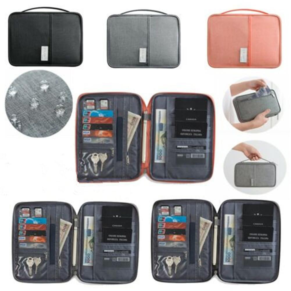 Gili Technology Tree Travel Passport /& Document Organizer Zipper Case