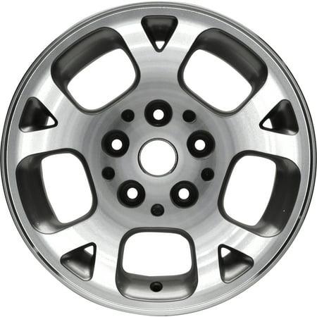 PartSynergy New Aluminum Alloy Wheel Rim 16 Inch Fits 99-03 Jeep Grand Cherokee 10 Spokes