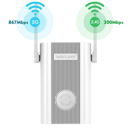 Wavlink Arieal X - AC1200 WiFi Range Extenders Signal Booster 1200Mbps 2.4+5Ghz Dual Band Wi-Fi Amplifier RepeaterAccess Point AP, Works w/Any Router, Upgraded Version Dual Band Cellular Amplifier