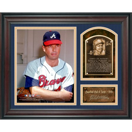 Eddie Mathews Atlanta Braves Fanatics Authentic Framed 15