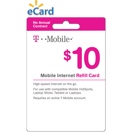 Tmobile Home Internet Plans t-mobile $10 prepaid mobile internet on-demand pass (email