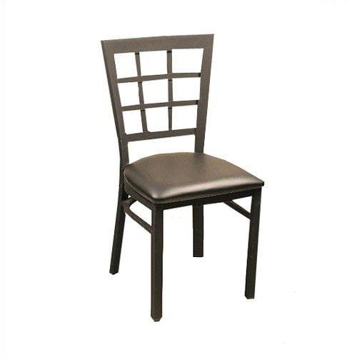 Alston Lattice Back Metal Chair