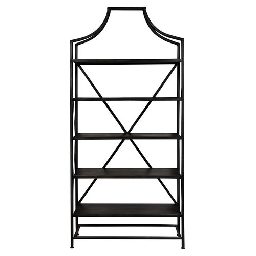 Gracie Oaks Burhill Etagere Bookcase by