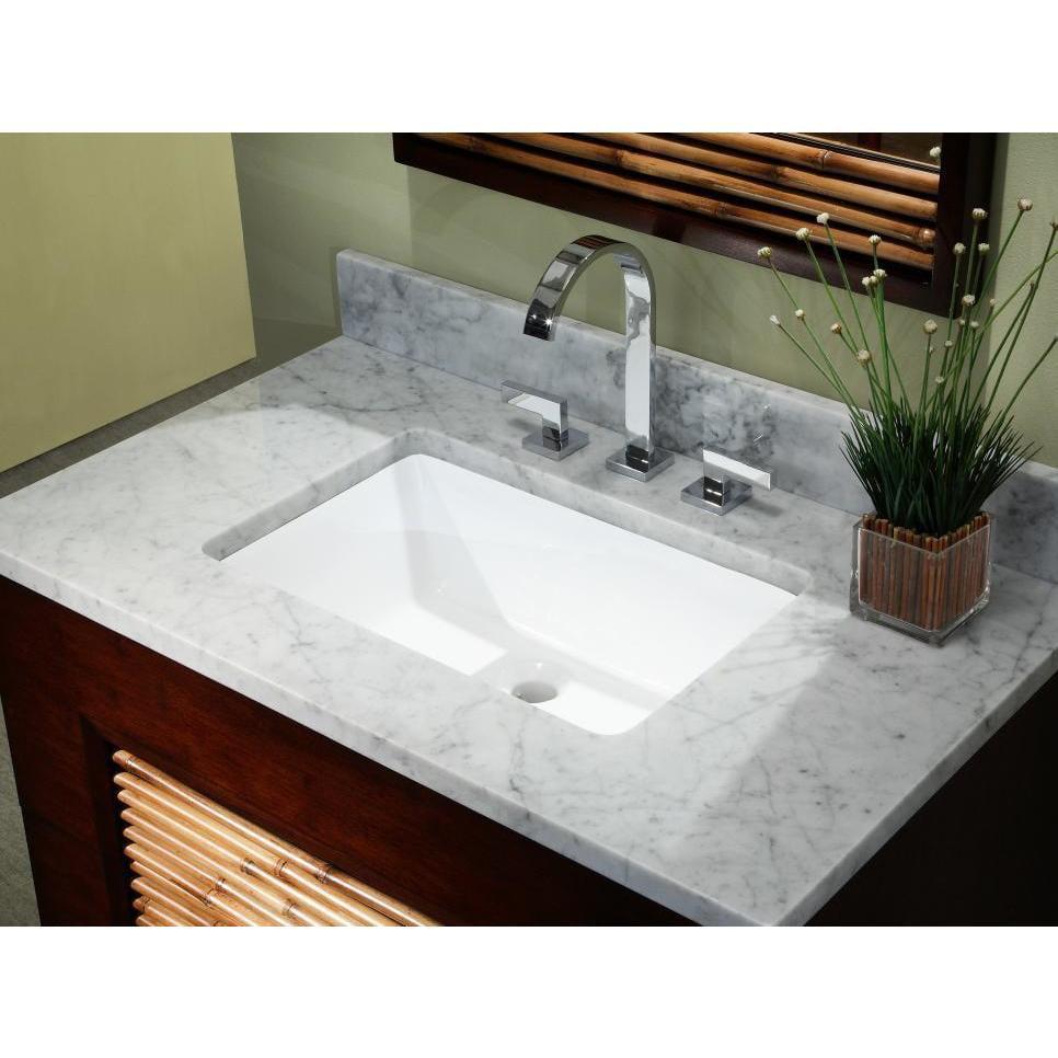 20 3 4 Rectangular Shape Bathroom Undermount Sink 20 3 4 Inch European Style Rectangular Shape Porcelain Ceramic Bathroom Undermount Sink Walmart Com Walmart Com