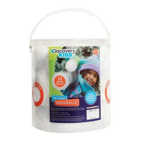 Discovery Kids Indoor Snowballs 3 in. L](Indoor Snowball)