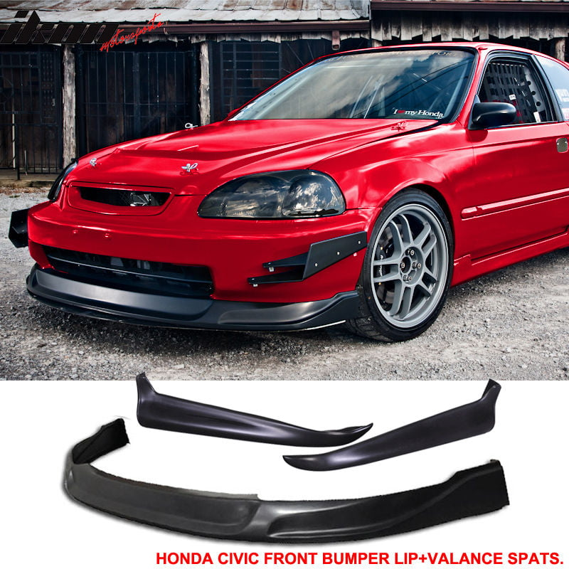 Bumper Cover Kit For 96-98 Honda Civic Front 2pc