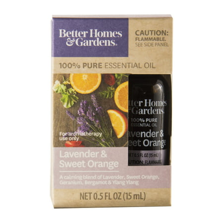 Better Homes & Gardens 15 mL 100% Pure Lavender & Sweet Orange Essential Oil - Sweet 15 Themes