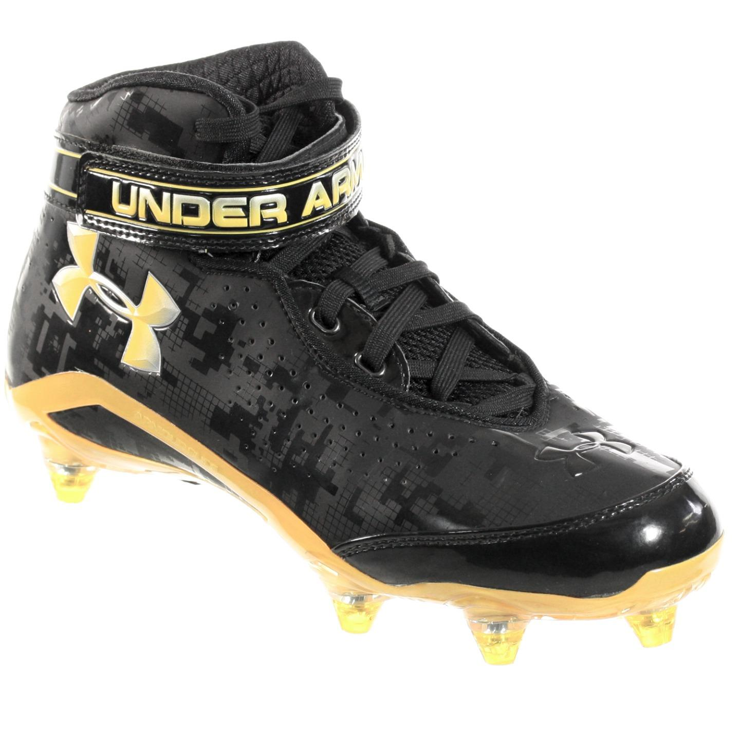 Under Armour Under Armour Men S Football Cleats Run N Gun D Black
