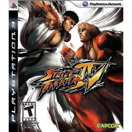 Street Fighter IV - Playstation 3