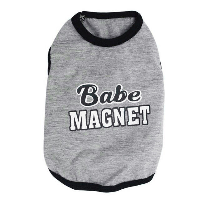 Baby Magnet Cotton Jersey Vest Pet Clothing