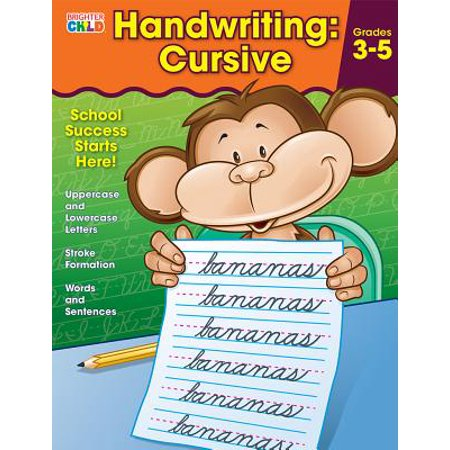 Brighter Child Handwritinghandwriting Grades