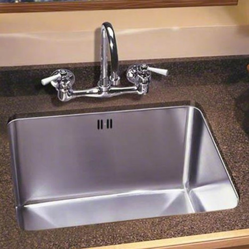 Just Manufacturing 24'' x 20'' Single Bowl Undermount Kitchen Sink with Faucet