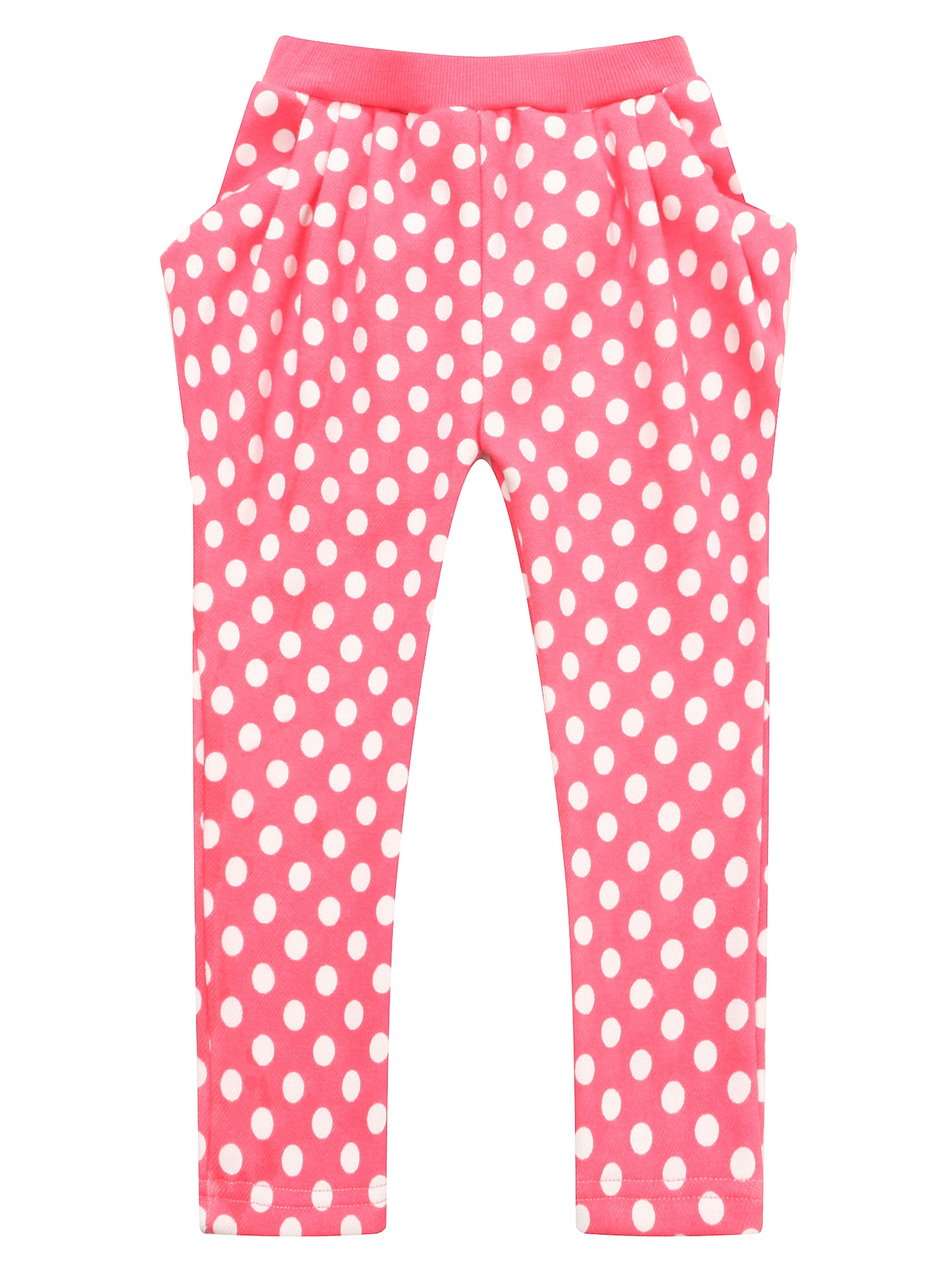 Richie House Girls' Polka Dot Loose Pants RH1421
