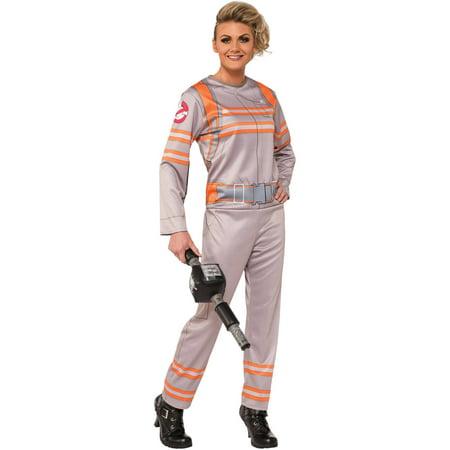 Woman Ghostbuster Costume (Ghostbusters Women's Adult Halloween)
