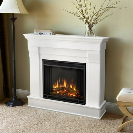 Swell Real Flame Chateau Electric Fireplace In White Finish Walmart Canada Home Remodeling Inspirations Genioncuboardxyz