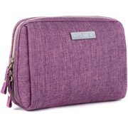 Make Up Kit Bag Cute Cosmetic Bag Waterproof Travel Toiletry Bag Organizer Small Size Purple