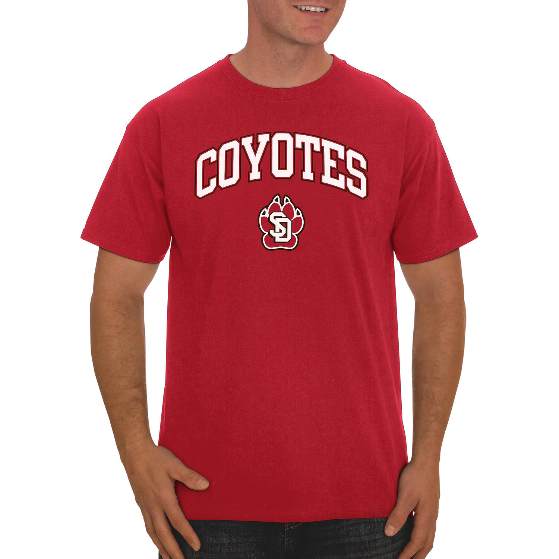 NCAA South Dakota Coyotes Big Men's Classic Cotton T-Shirt