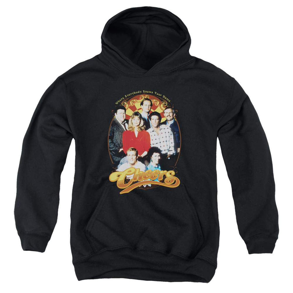 Cheers Group Shot Big Boys Pullover Hoodie