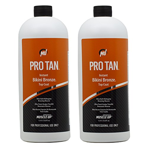 Pro Tan Instant Bikini Bronze Top Coat Ultra Dark Mahogan...
