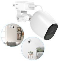 TSV Indoor Wall Mount for Arlo Pro 2, Arlo Pro Security Camera, Adjustable Ceiling Mount Socket Bracket Hanger Holder (White)