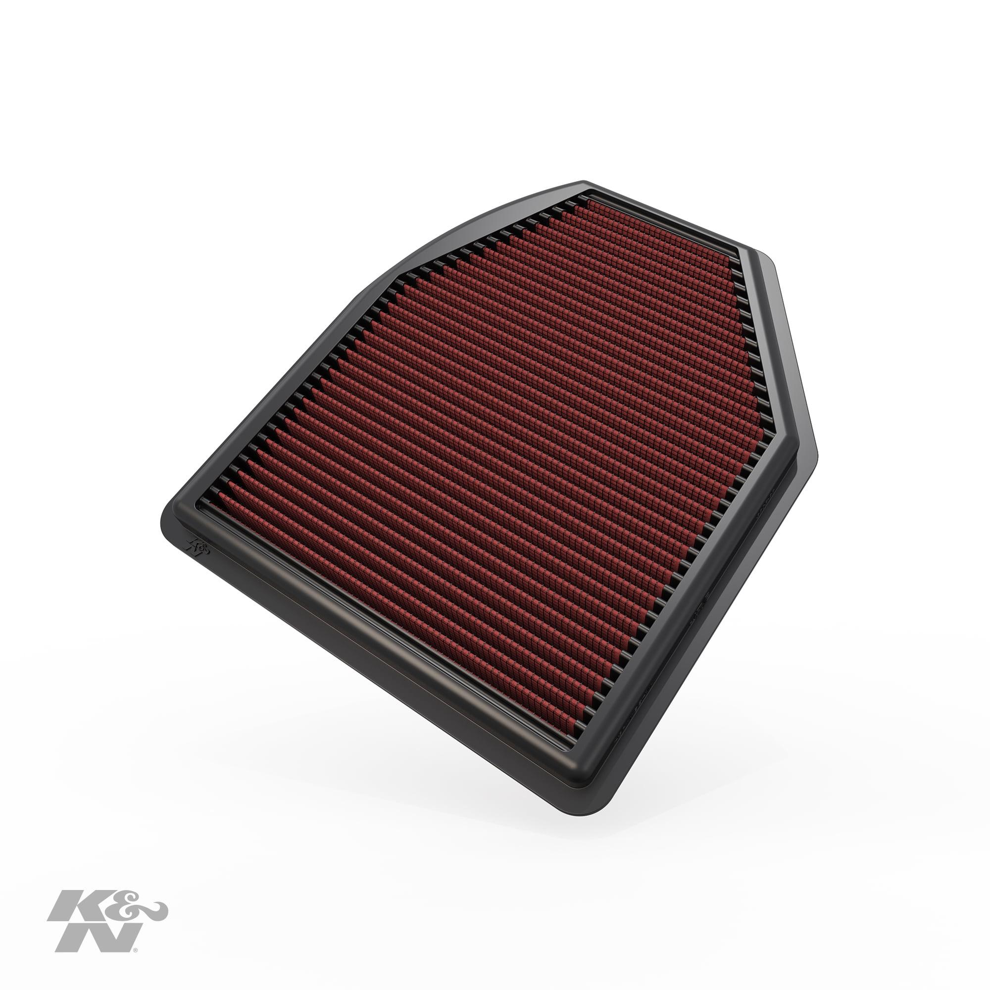 K&N Engine Air Filter: High Performance, Premium, Washable
