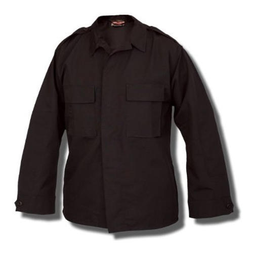 Tru-Spec 1360005 Men's Poly Cotton Ripstop Long Sleeve Tact Shirt Black Large