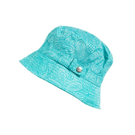 TOTES - Women s Bucket Rain Hat with Band and Embossed Snap dc9c98c7a92