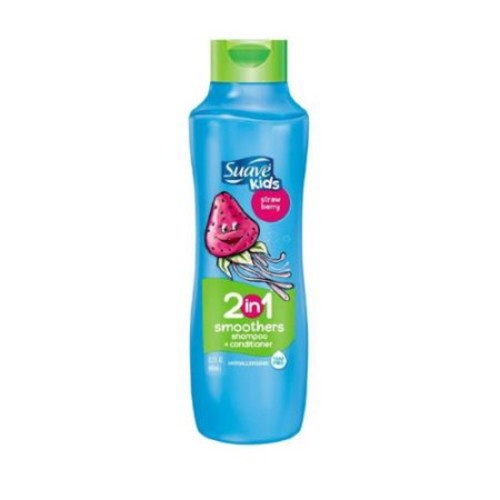 Suave Kids 2 in 1 Shampoo and Conditioner Strawberry Smoothers 22.5oz