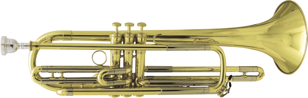 Kanstul Model 1088-1 Bass Trumpet in Lacquer by Kanstul