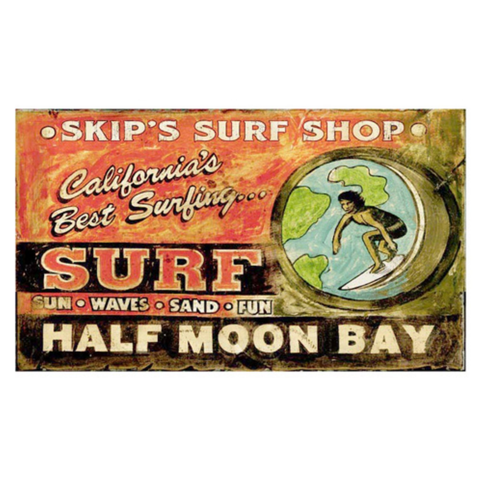 Surf Shop Wall Art