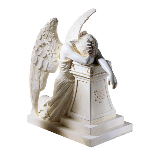 Design Toscano Angel of Grief Monument Figurine by Design Toscano