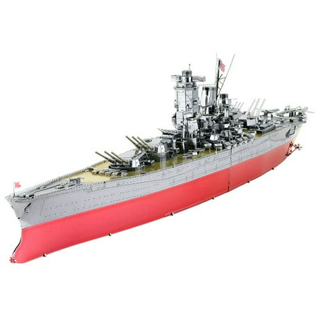 Fascinations ICONX Yamato Battleship 3D Metal Model
