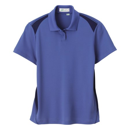 Il Migliore Ladies' Recycled Polyester Performance Honeycomb Color Block Polo Shirt 75054