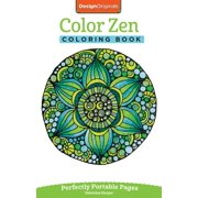 On-The-Go! Coloring Book: Color Zen Coloring Book: Perfectly Portable Pages (Paperback)