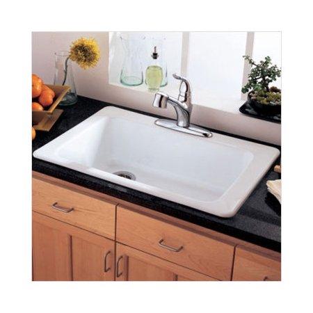 American Standard Lakeland 33\'\' Single Bowl Kitchen Sink - Walmart.com