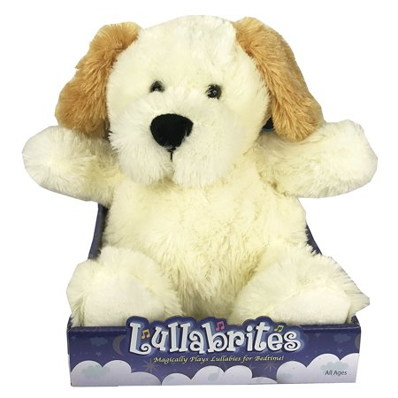 Cuddle Dog - Lullabrites Plush Teddy Nighttime Lullabies Night Light Cuddle Buddy Dog