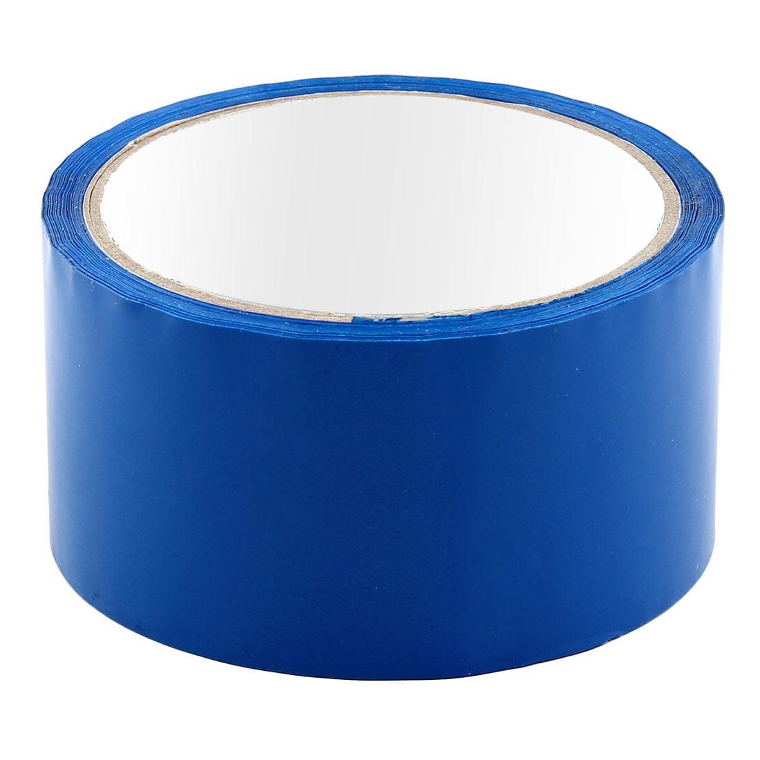 Shipping PVC Box Sealing Adhesive Tape Dark Blue 1.9'' x 32.8 Yards(295.3 Ft)