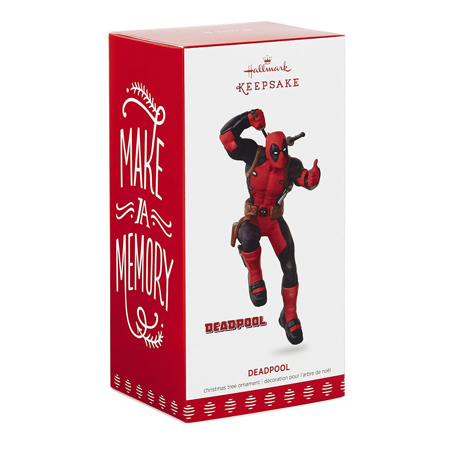 Hallmark Keepsake 2017 Deadpool Christmas Ornament