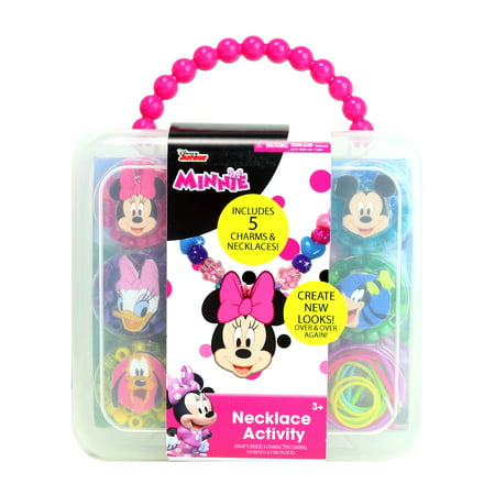 Disney Junior Minnie Mouse Necklace Activity Craft Set