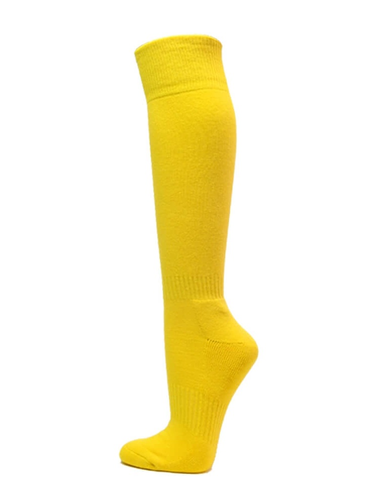 Couver Unisex Solid Youth/Kids Knee High Sports Athletic Baseball Softball Socks