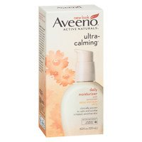 Aveeno Ultra-Calming Daily Moisturizer For Sensitive Skin With Broad Spectrum Spf 15, 4 Fl.
