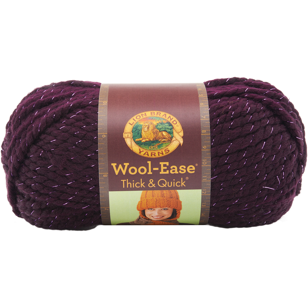 Lion Brand Wool-Ease Thick & Quick Yarn, 1 Each