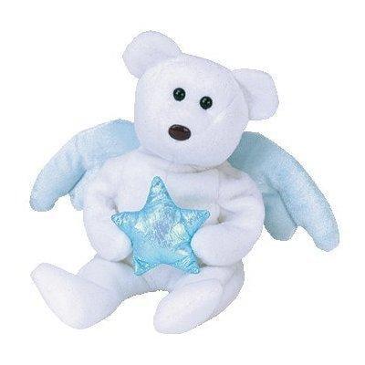 Musical Angel Bears (ty beanie babies star - angel bear blue (ideation exclusive))